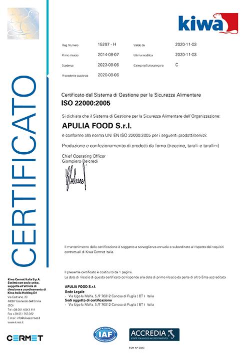 Certificato-22000