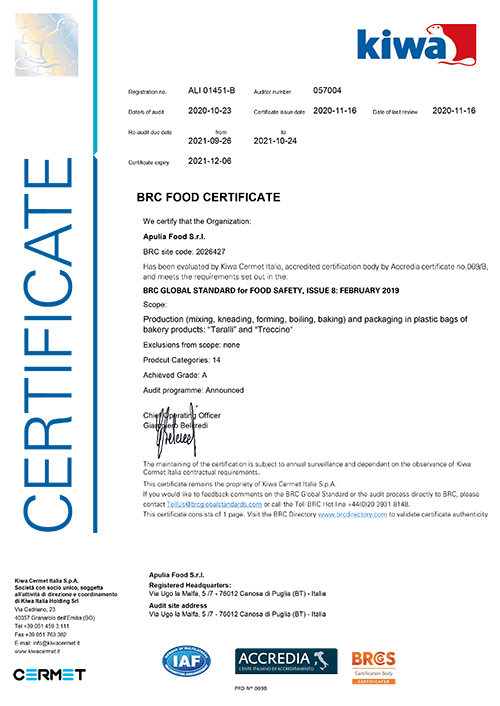 Certificato-BRC-Apulia-2020